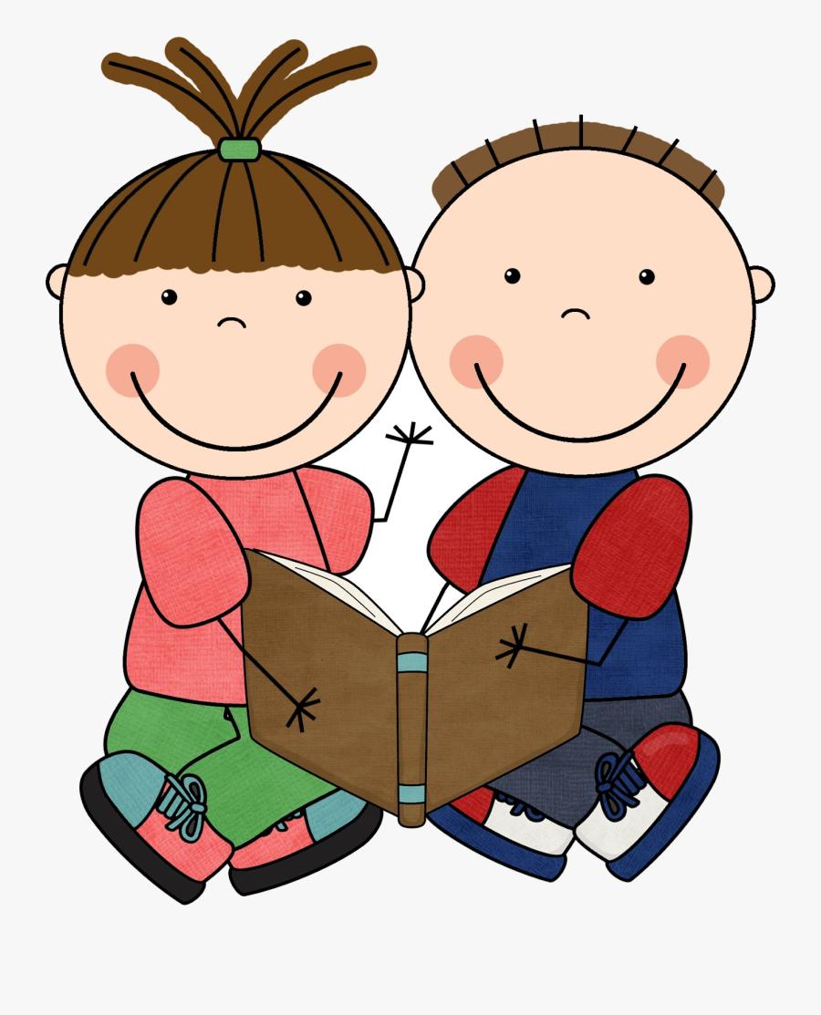 Reading Free Clip Art Children Books Clipart Transparent.