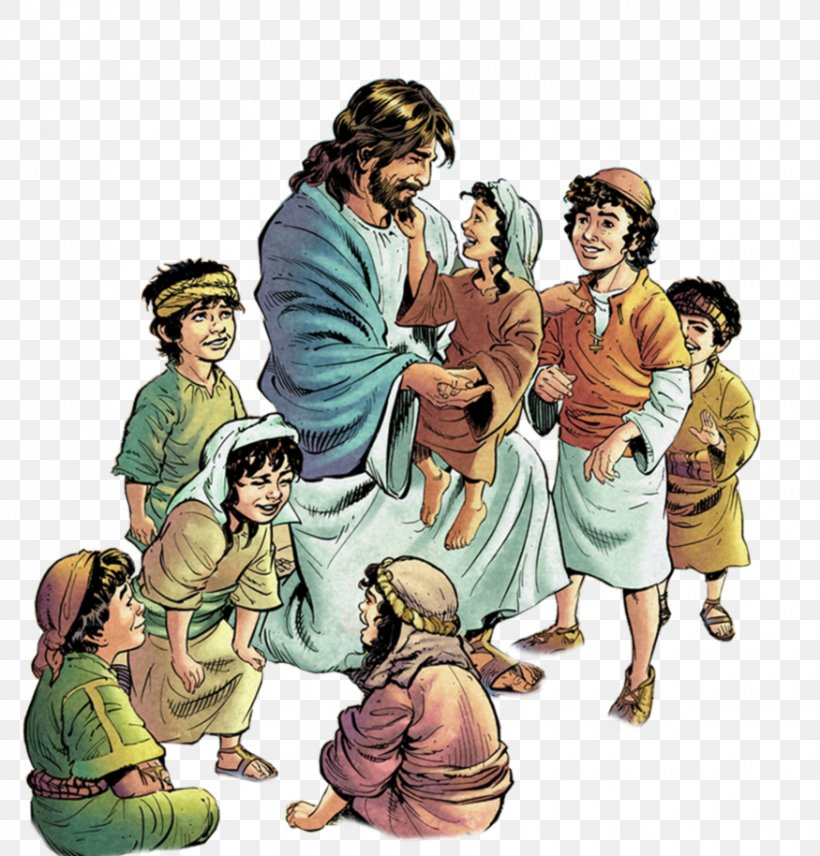 Teaching Of Jesus About Little Children Clip Art, PNG.