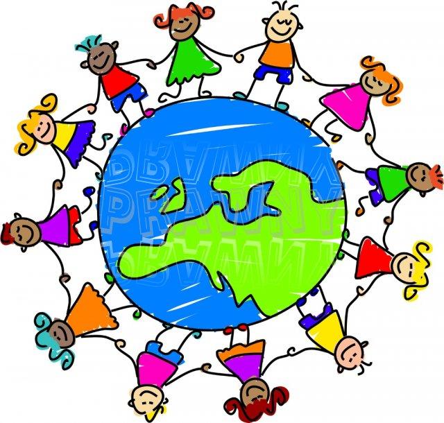 Toddler Art European World Globe Clipart Children.