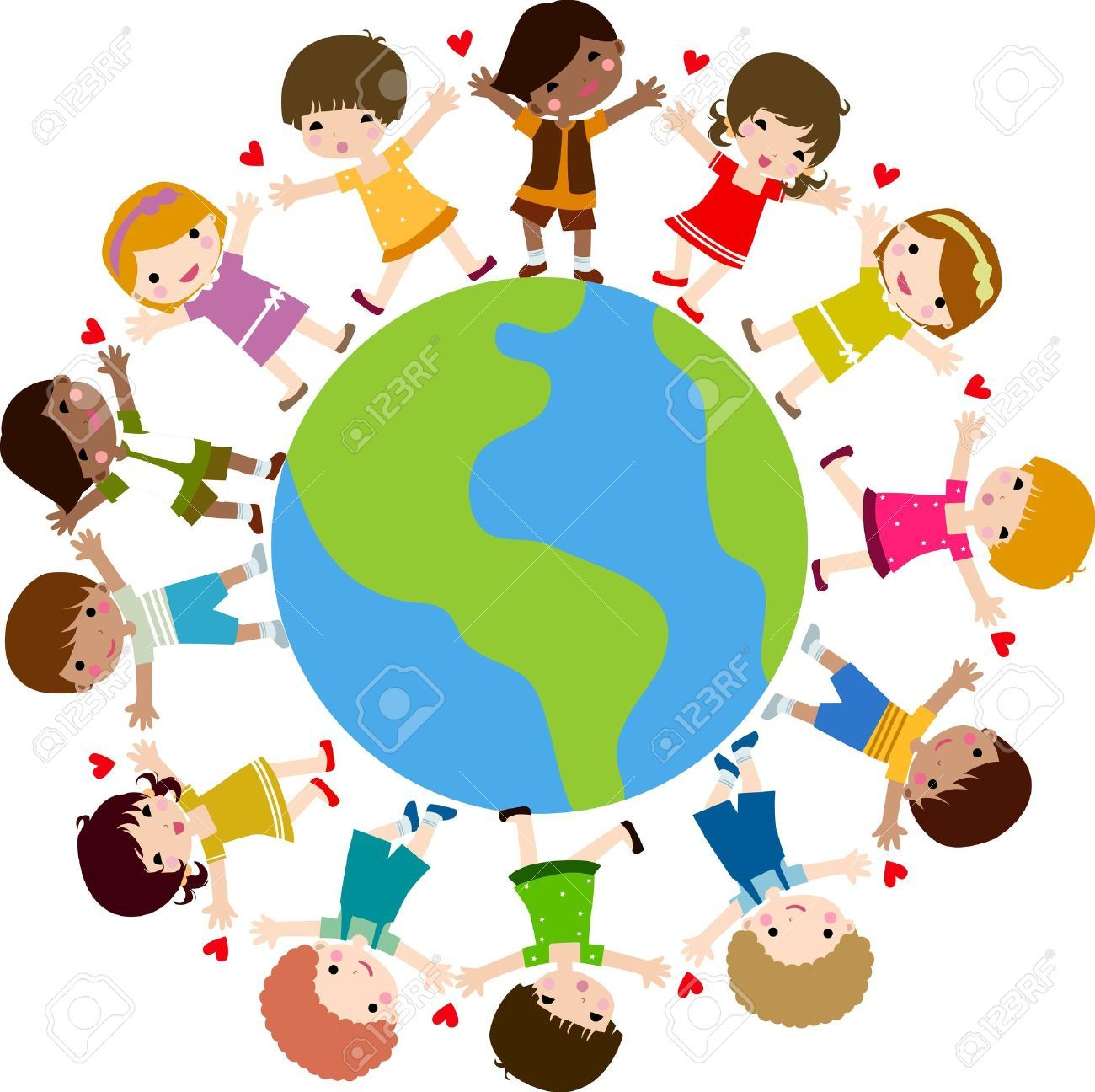 Children around the world clipart free 1 » Clipart Portal.