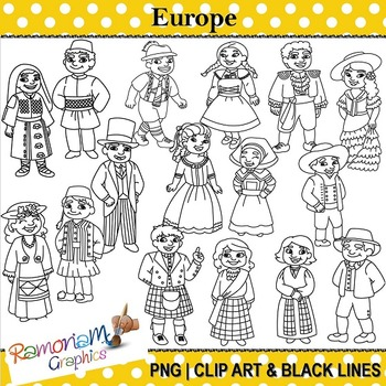 Children of the World Clip art Europe.
