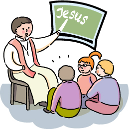 Clipart Of Sunday School.