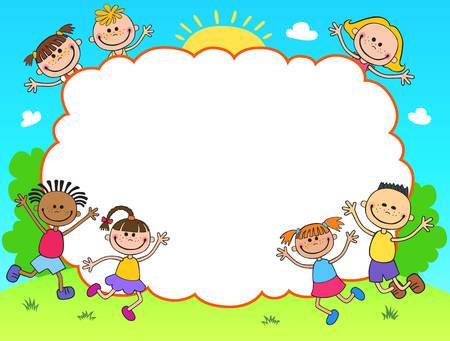 12,209 Frame Border Kids Cliparts, Stock Vector And Royalty Free.
