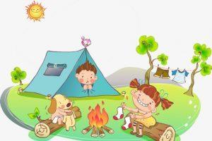 Children camping clipart 1 » Clipart Portal.