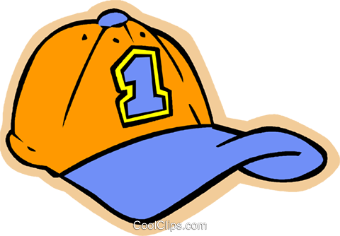 children at play, kids, baseball hat Royalty Free Vector Clip Art.