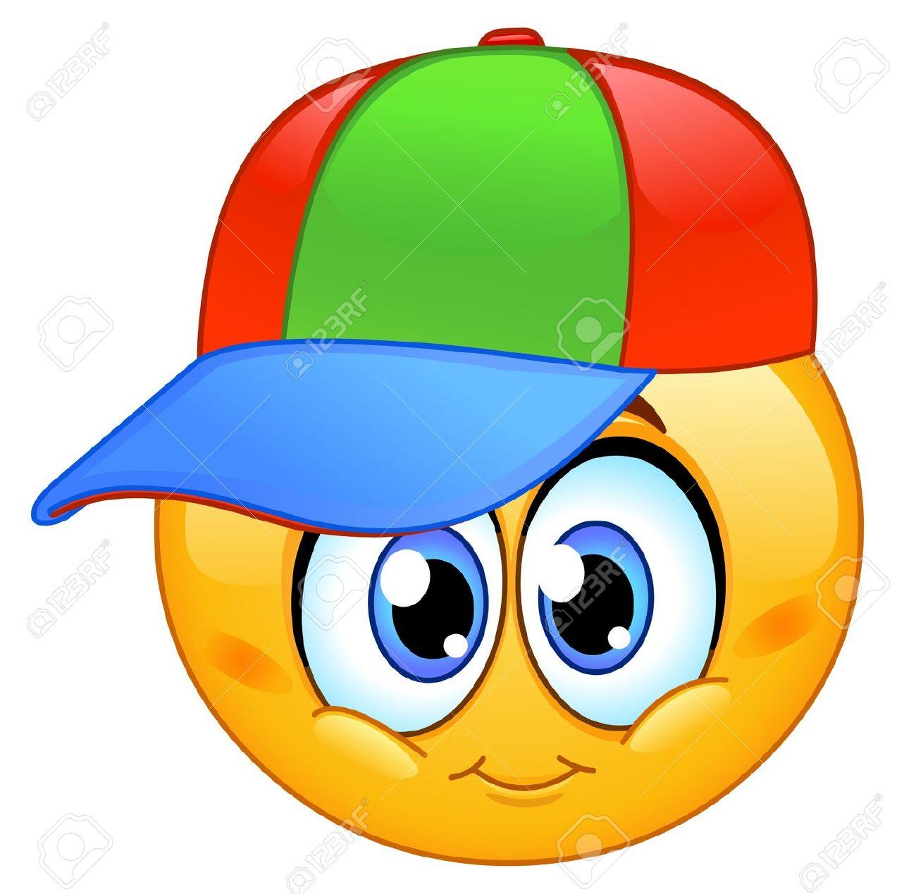 Cute clipart kid ball cap.