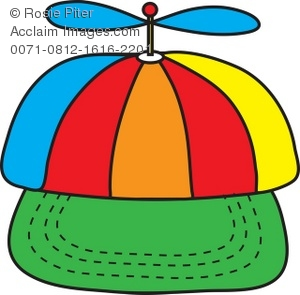 Royalty Free Clipart Illustration of a Beanie Cap.