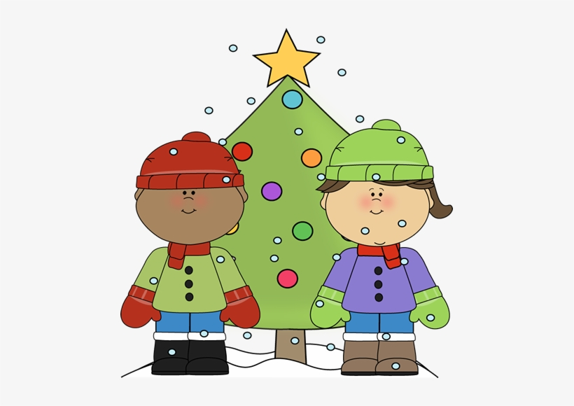 Christmas Clip Art Images Little Boy And.