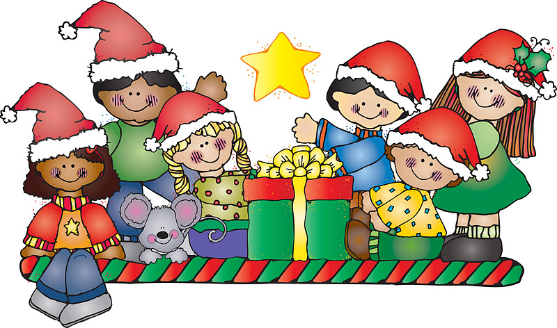 Kids christmas clipart 2 » Clipart Station.