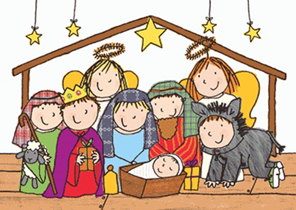 children christmas play clipart - Clipground
