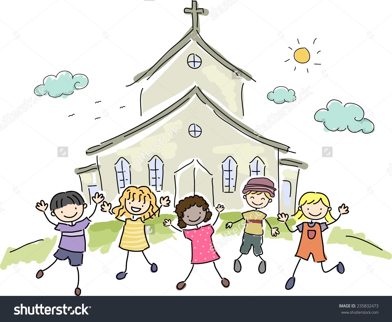 Church Clipart Kids.