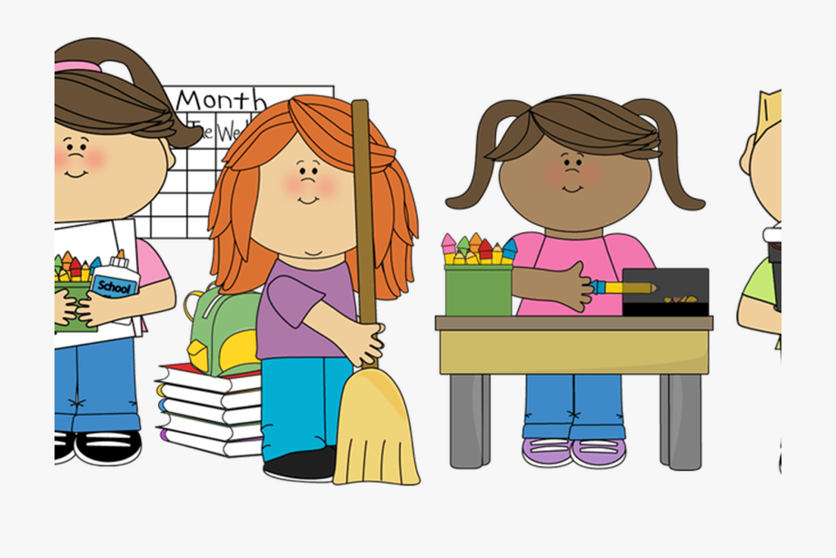 Children Cleaning Classroom Clipart Clip Art Library.