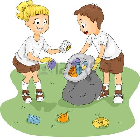 children cleaning classroom clipart #11