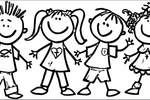 Child clipart black and white 6 » Clipart Station.