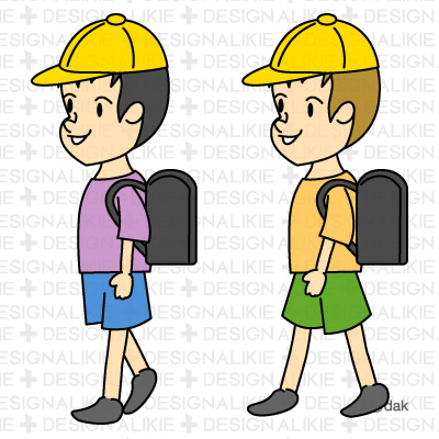 School Children Clip Art.
