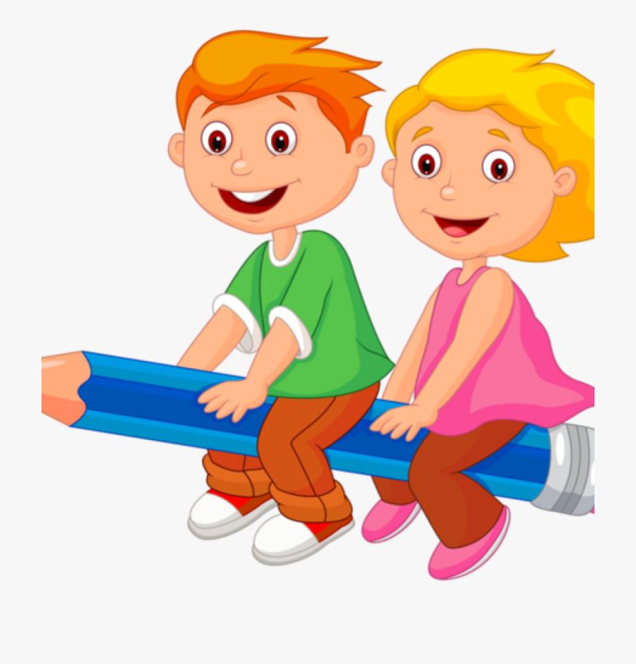 School Children Clip Art Personnages Illustration Individu.