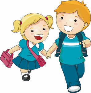 Playing Children Clipart.