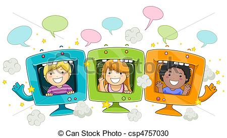Computer kid Illustrations and Clip Art. 11,984 Computer kid royalty.