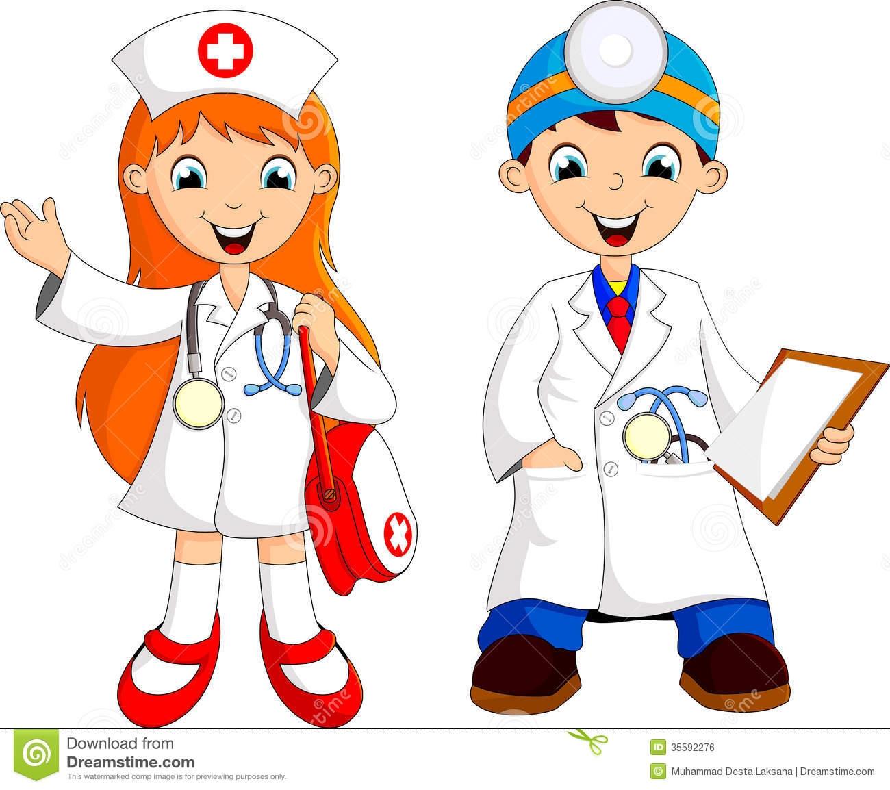 Children Doctor Clipart.
