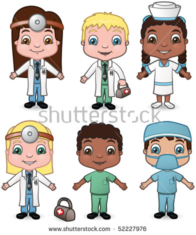 Black Child With Doctor Stock Images, Royalty.