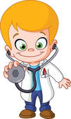 Stock Photography of children kids baby play professions k10887411.