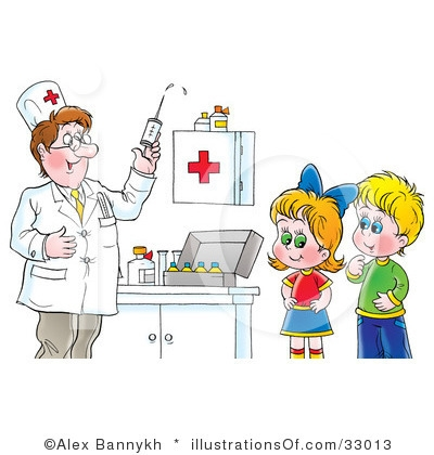 Children Doctor Clipart.