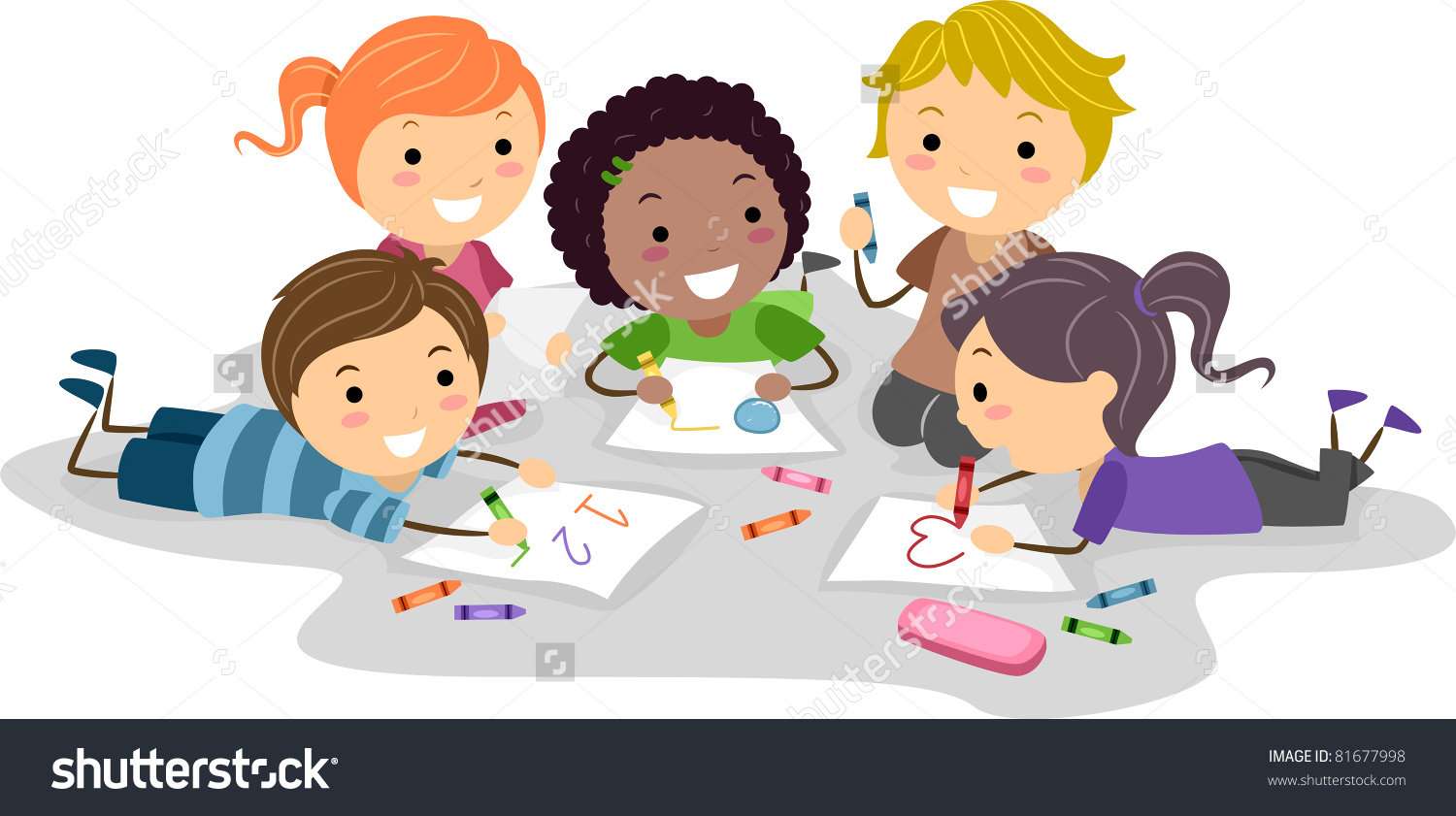 Children drawing clipart - Clipground