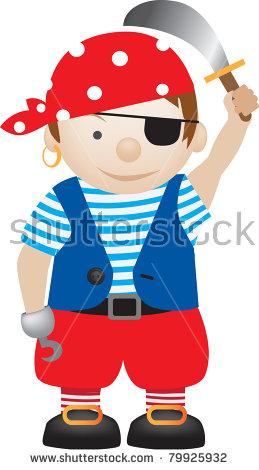 Children Costumes Dress Pirate Stock Photos, Royalty.
