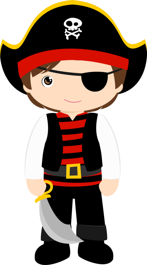 Pirate Color Pages for Kids!.