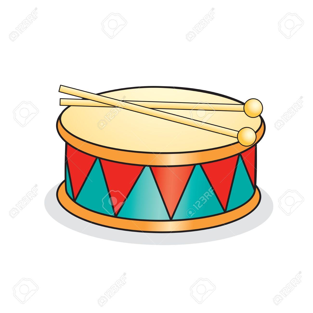 Children Drum Clipart