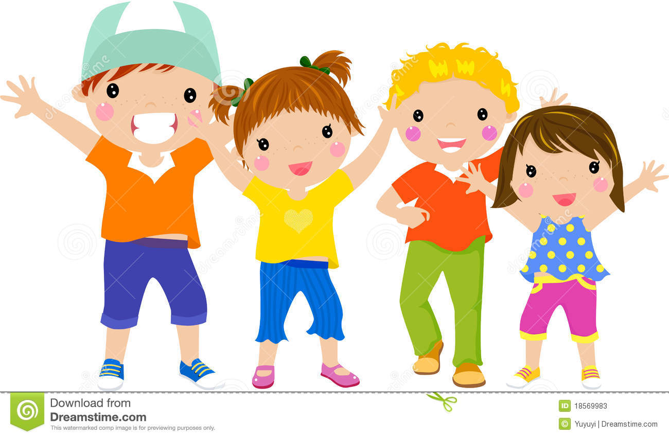 Group Fun Clipart.