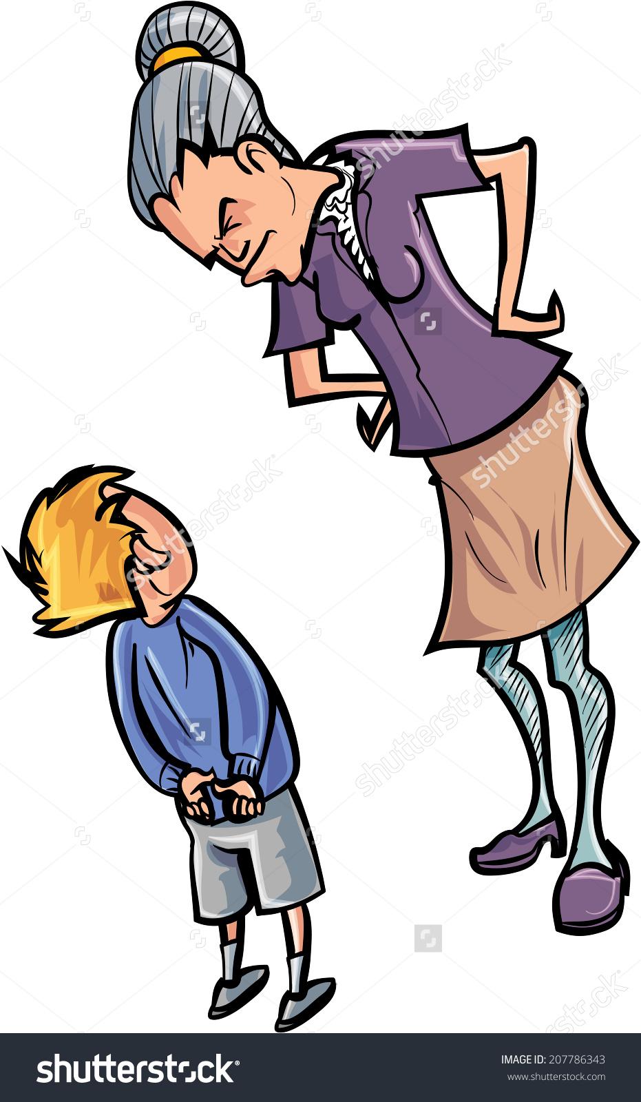 Showing post & media for Yelling teacher cartoon.