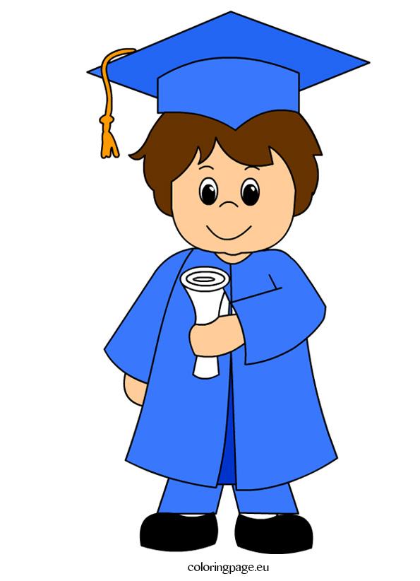 Kids Graduation Clipart.