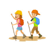 Kids hiking clipart 5 » Clipart Station.