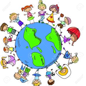 Clipart Of Children Around The World Holding Hands.