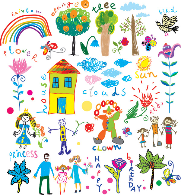 Free children illustration clip art.