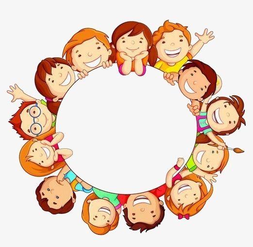 Creative Circular Border, Children Borders, Child, Little.