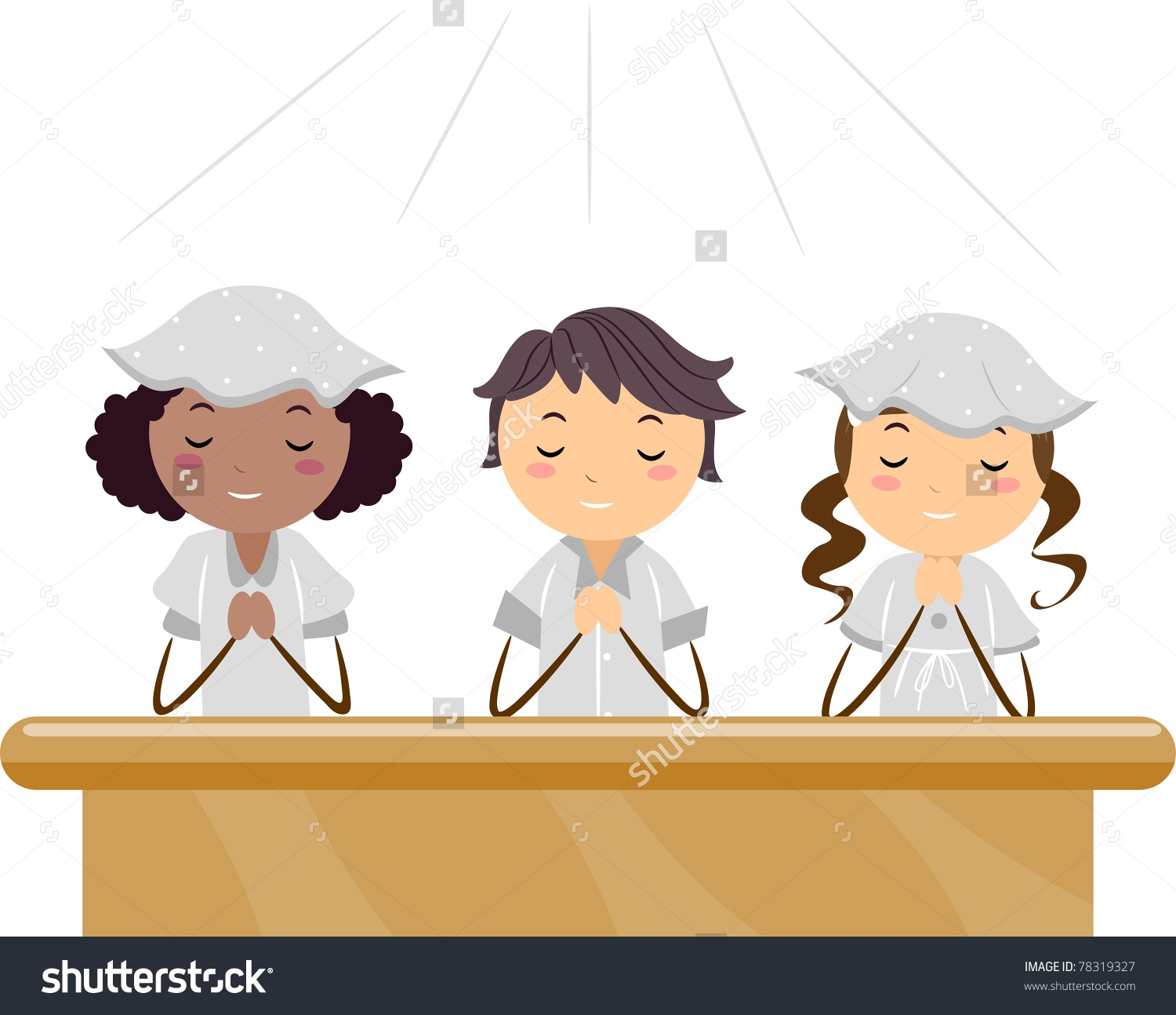 Children praying in church clipart 5 » Clipart Station.