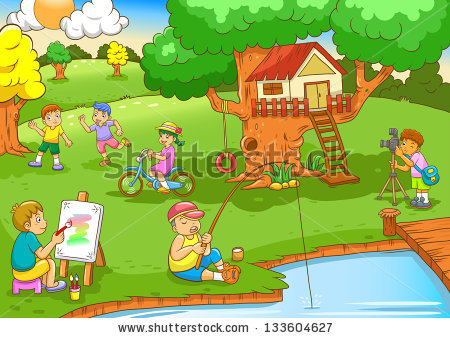 Children playing in the park clipart 6 » Clipart Station.