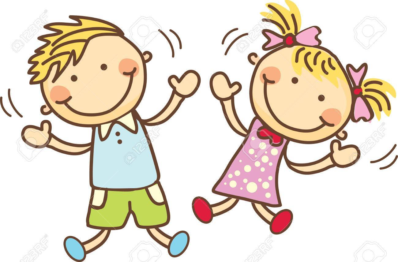 Children jumping clipart 1 » Clipart Portal.