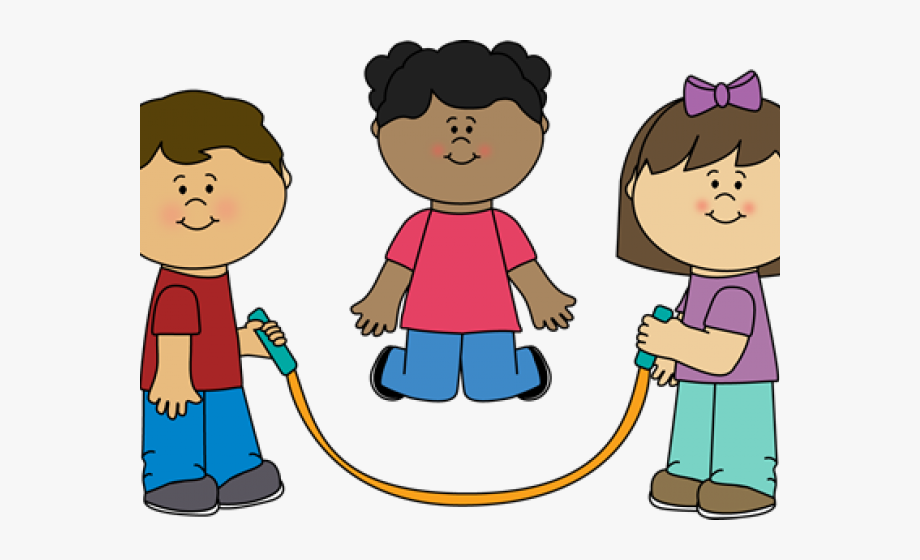 Kids Jump Rope Clipart #87348.