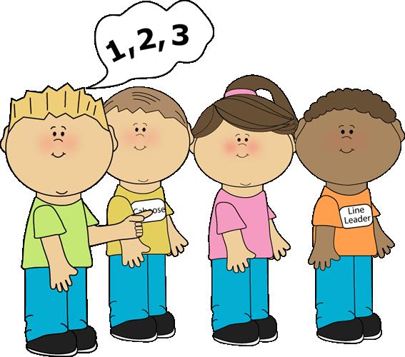 Children Doing Math Clipart.