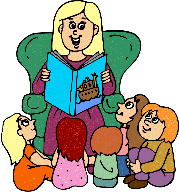 Children Listening To Teacher Clipart.