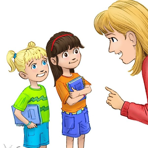 Children listening to teacher clipart 4 » Clipart Station.