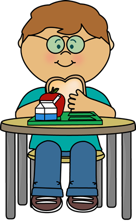 Kids Lunch Clipart.