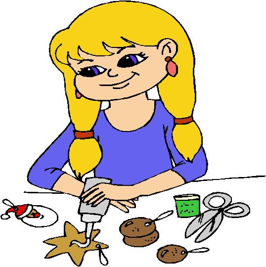 Craft children making art clipart clipartfox.