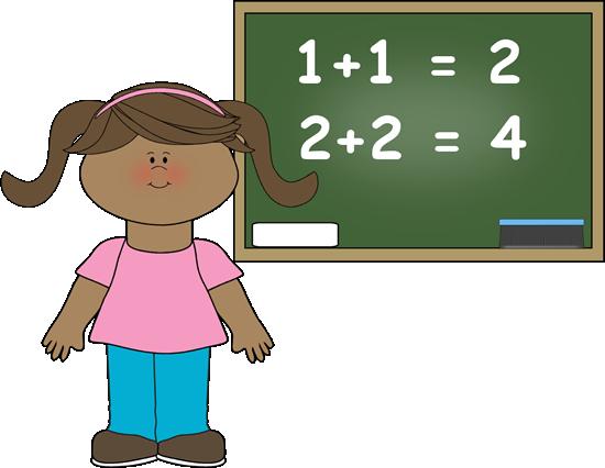 Children Math Clipart.