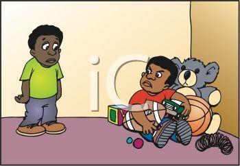 KİDS NOT SHARing toys illüstration ile ilgili görsel sonucu.