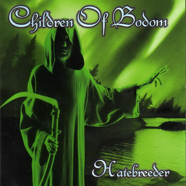 Children of Bodom Font and Logo.