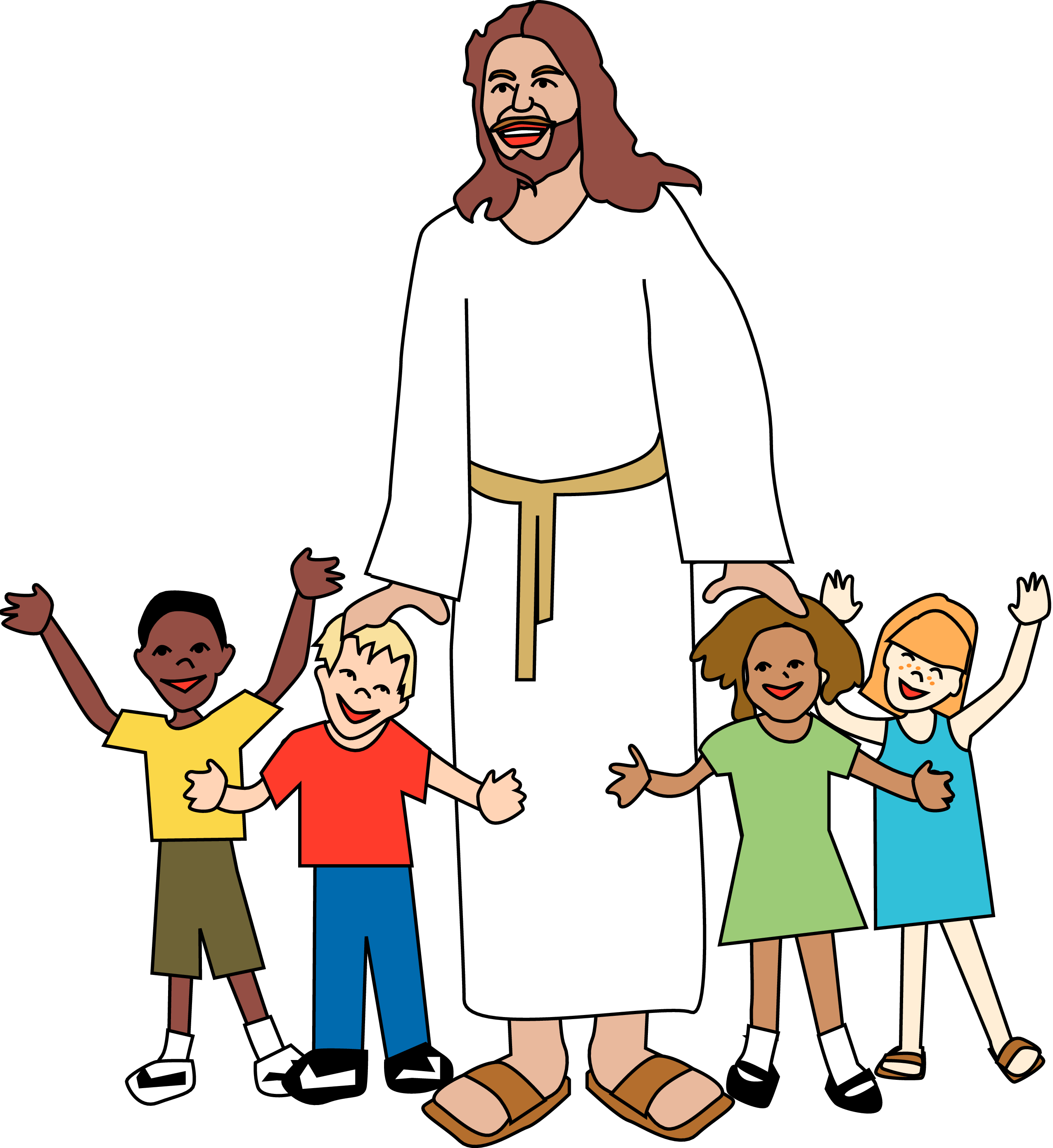 Sunday School Jesus Clip Art Merry Christmas Amp Happy.